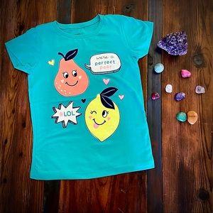 Carters Crewneck Graphic T Shirt